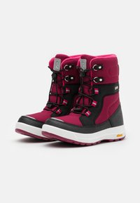 Reima - REIMATEC LAPLANDER UNISEX - Zimní obuv - dark berry - 1