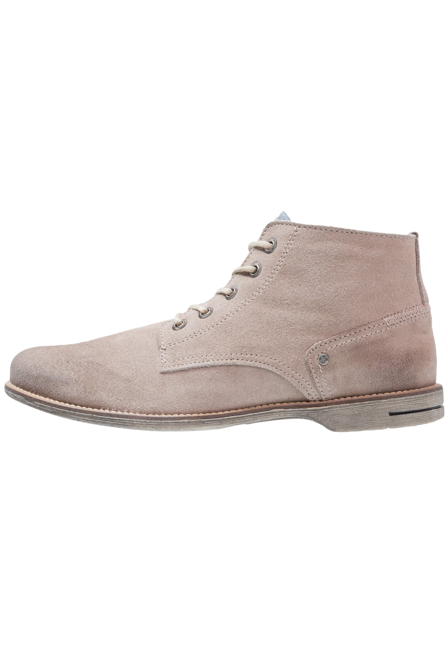Homme CRASHER - Chaussures à lacets - taupe