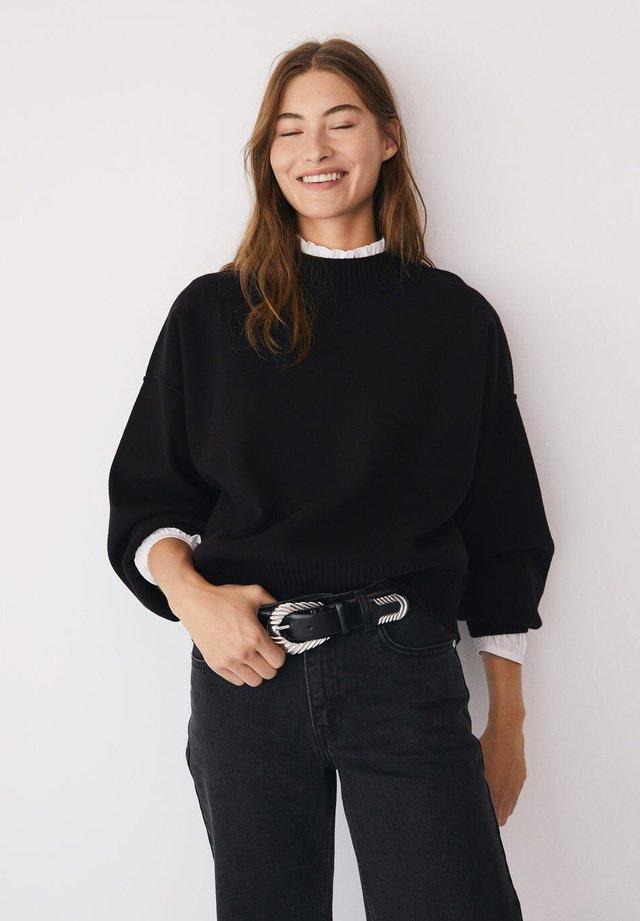 YLENIA - Sweater - black