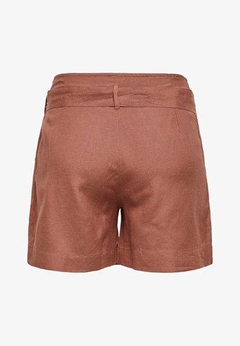 ONLVIVA LIFE BELT - Shorts - apple butter