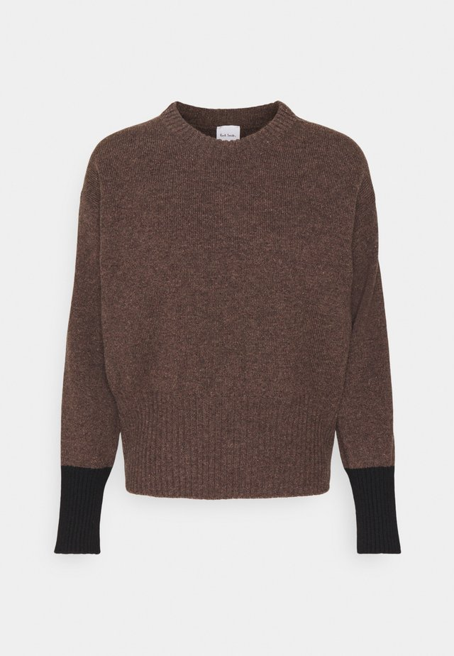 WOMENS JUMPER - Jumper - dark brown