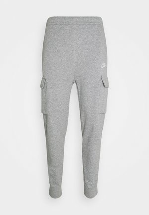 CLUB PANT - Pantaloni sportivi - grey heather/matte silver/white