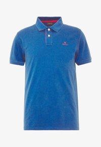 CONTRAST COLLAR RUGGER - Polo shirt - nautical blue