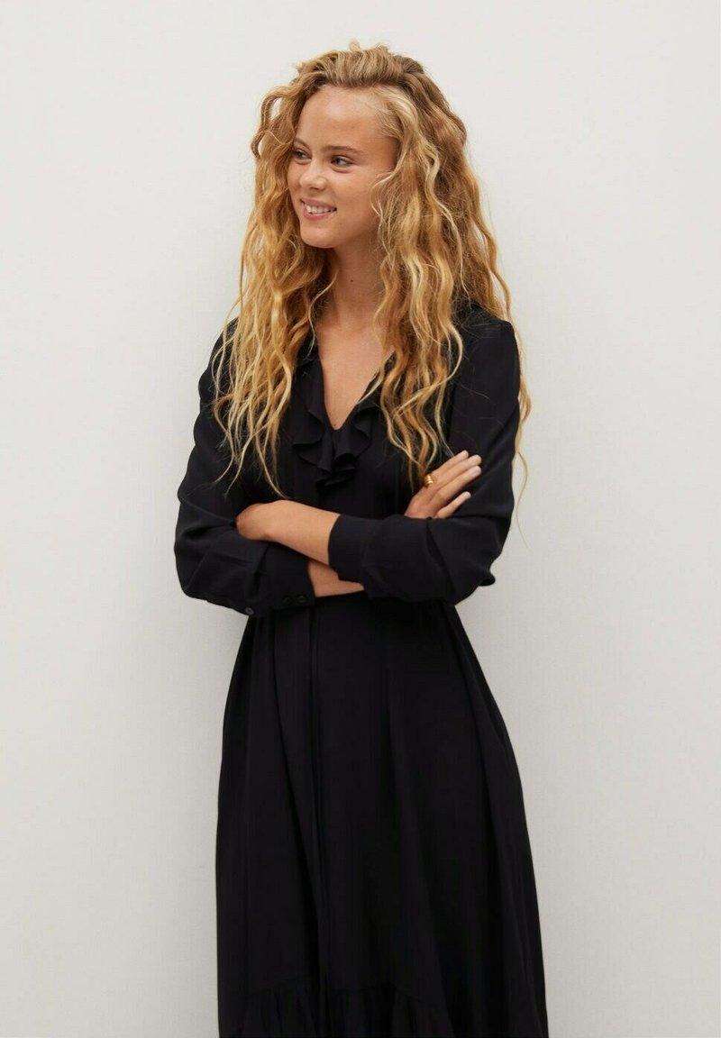 Mango - NOIR - Day dress - schwarz