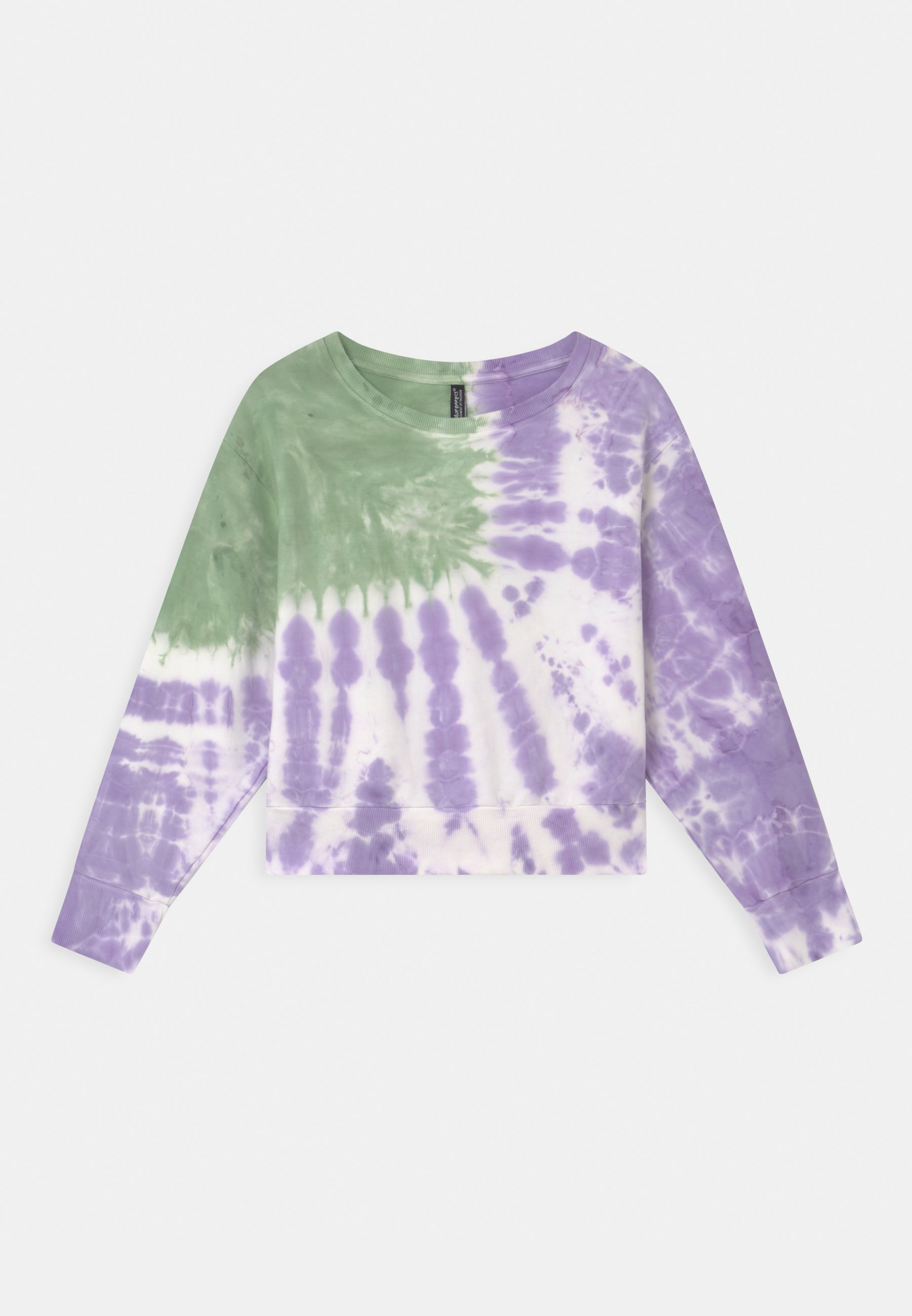 Kids GIRLS BOXY  - Sweatshirt - moos/violett