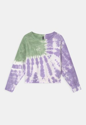 GIRLS BOXY  - Sweatshirts - moos/violett