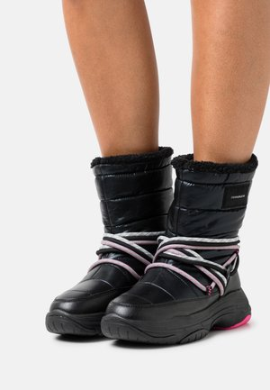 CHUNKY LACEUP - Winter boots - black