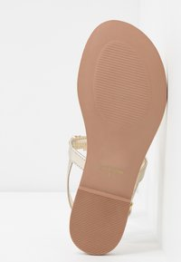 River Island - T-bar sandals - gold - 6