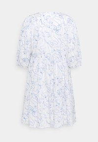 Marc O'Polo DENIM - DRESS WIDE SLEEVES - Day dress - scandinavian white - 1