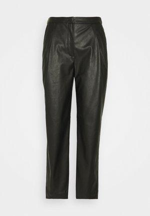 MARIE PLEAT PANTS - Trousers - black