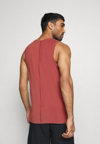 Nike Performance - TANK  - Sports shirt - claystone red/black - 2