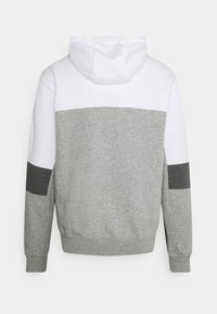 Nike Sportswear - HOODIE  - Sweatshirt - white/grey heather/charcoal heather - 1