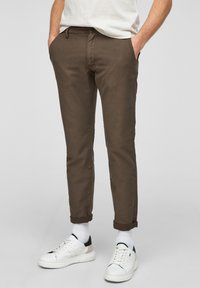 s.Oliver - Chinos - olive - 0