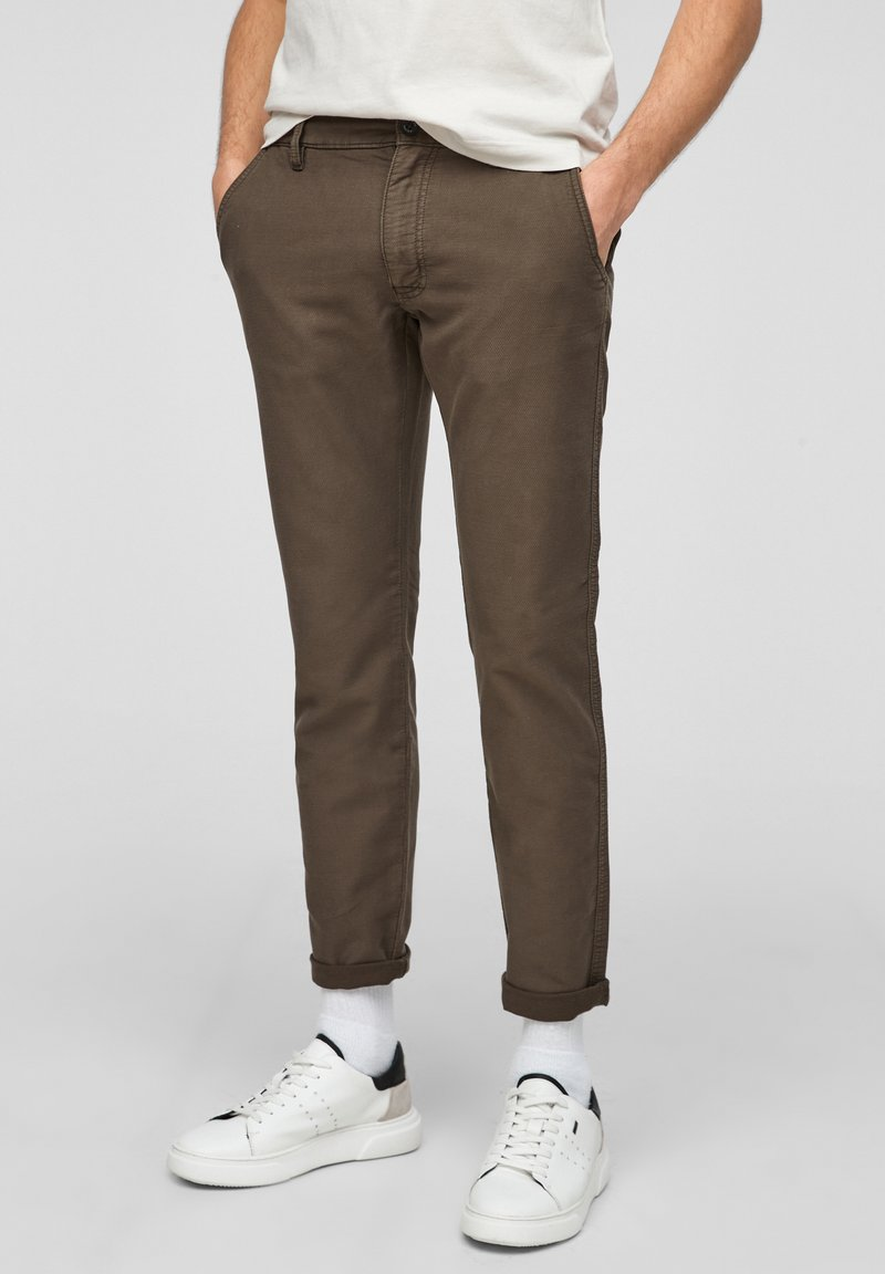 s.Oliver - Chinos - olive