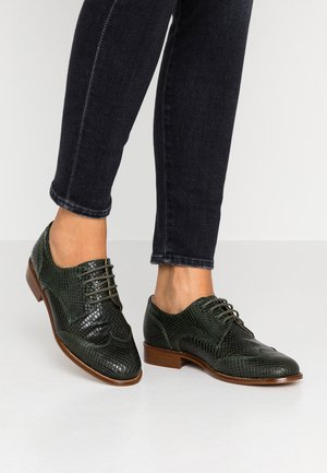 STANTON - Lace-ups - green