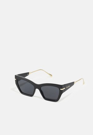 TRELOAN - Occhiali da sole - black/gold-coloured/multi