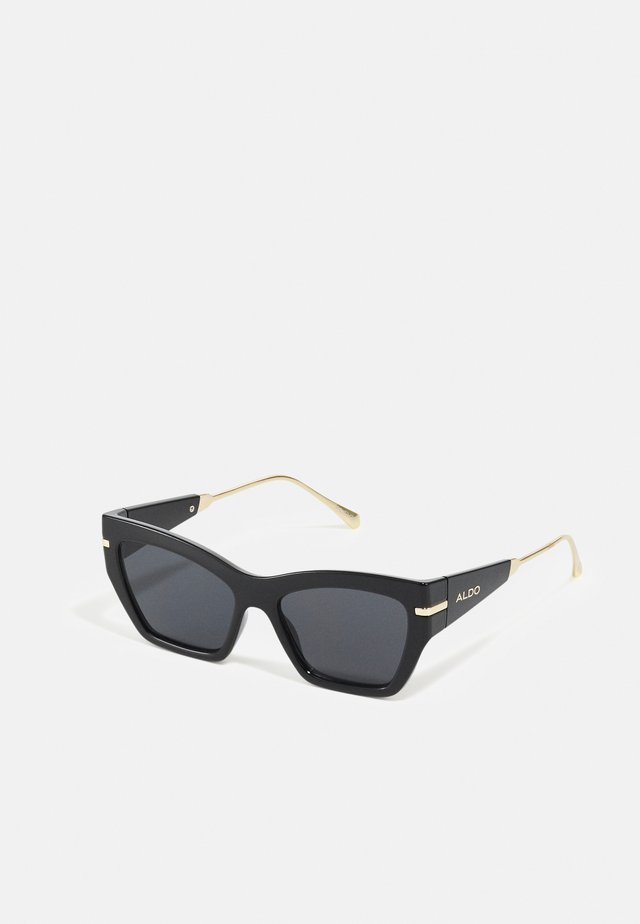 TRELOAN - Lunettes de soleil - black/gold-coloured/multi