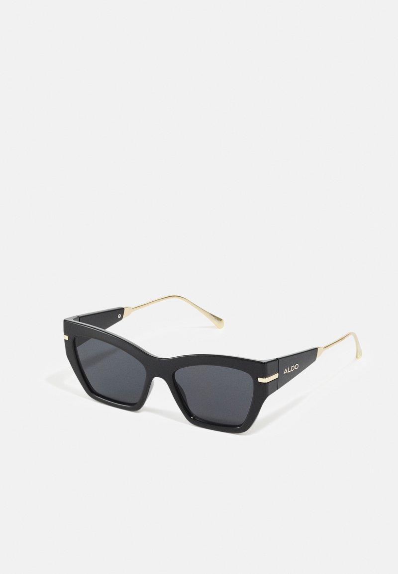 ALDO - TRELOAN - Sunglasses - black/gold-coloured/multi