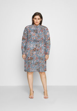 VAMONE DRESS - Shirt dress - light blue