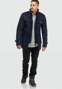 INDICODE JEANS - BRANDAN - Short coat - dark blue - 7