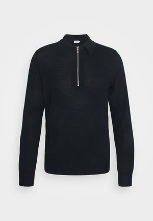 SHAWN ZIP - Jumper - navy