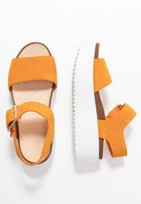 Clarks - BOTANIC STRAP - Platform sandals - amber - 2