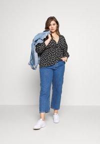 Levi's® Plus - PL 501® CROP - Jeans straight leg - jive stonewash - 1
