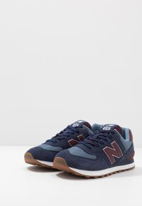 New Balance - 574 - Baskets basses - navy/red - 2