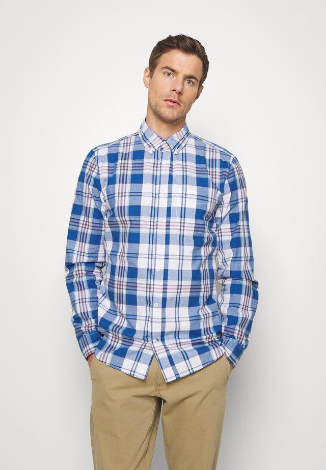 SLIM - Shirt - blue