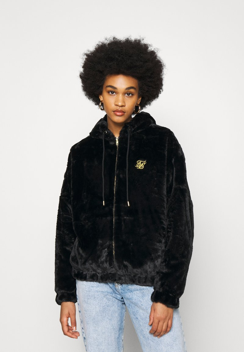 SIKSILK - LUXURY JACKET - Winter jacket - black