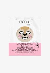 INC.redible - FACE INC CAT NAP SHEET MASK BRIGHTENING 25ML - Masque visage - 9119 neutral - 0