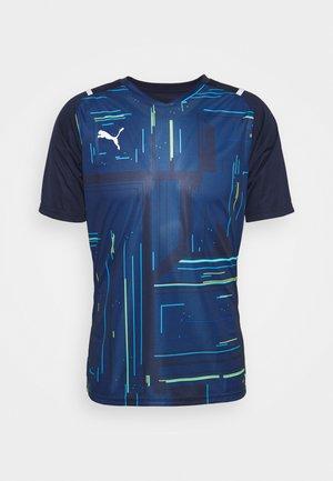 TEAMULTIMATE - Print T-shirt - peacoat