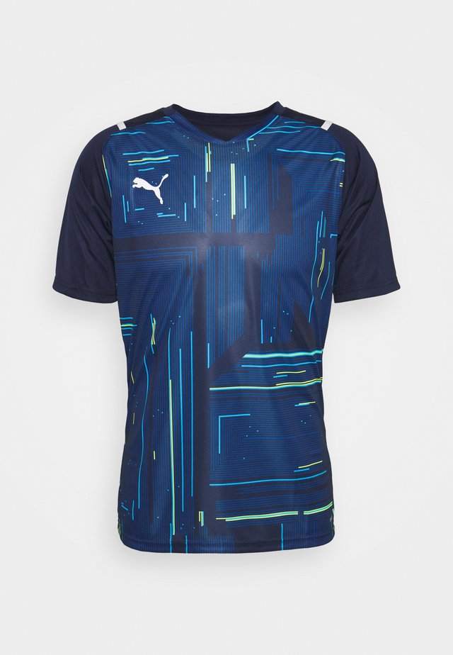 TEAMULTIMATE - T-shirt con stampa - peacoat