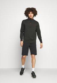 Calvin Klein Golf - MONACO  - Jumper - charcoal/red - 1