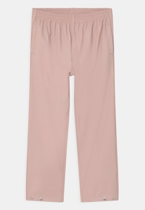 HIDDEN DRAGON UNISEX - Rain trousers - evening pink