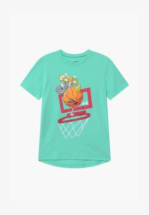 BASKETBALL  - T-shirt print - comet green