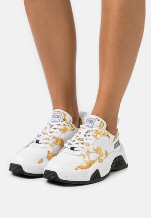 Sneakers basse - white/gold