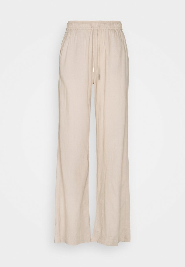 BRIZA PANTS - Trousers - sandstone