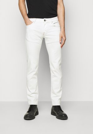 MITCH - Džíny Slim Fit - white