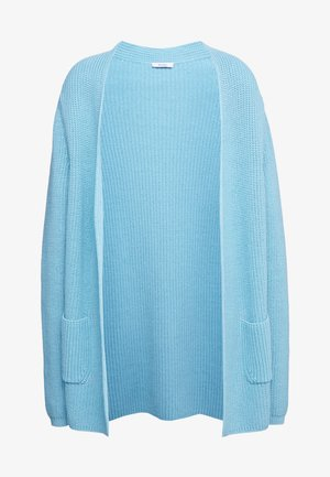 STRICKMANTEL - Cardigan - spa blue