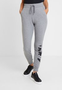 Armani Exchange - JOGGERS - Tracksuit bottoms - grey - 0