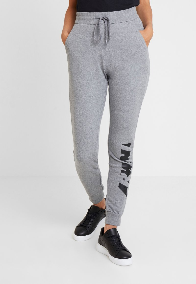 Armani Exchange - JOGGERS - Tracksuit bottoms - grey