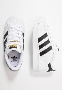 adidas Originals - SUPERSTAR - Trainers - footwear white/core black - 0