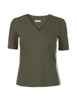 KNIT TORTY - T-shirt print - khaki