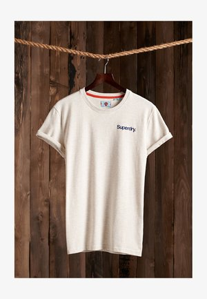 CLASSIC LOGO HIGH PEAKS - T-shirt print - mcqueen marl