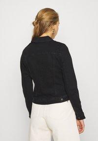 JDY - JDYNEWWINNER JACKET BOX - Denim jacket - black denim - 2