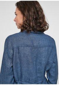 s.Oliver - Denim jacket - mottled dark blue - 4