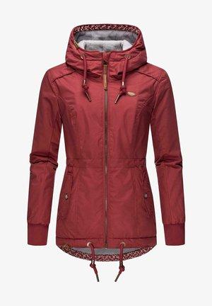 DANKA - Winter jacket - wine red