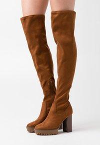 Anna Field - High heeled boots - cognac - 0