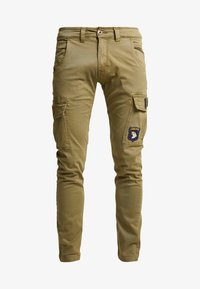 Alpha Industries - PETROL PATCH - Cargo trousers - oliv - 3
